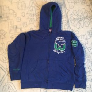EUC Mitchell and Ness Hartford Whalers Hoodie